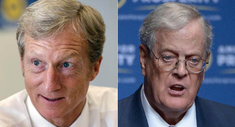 Tom Steyer vs. Koch brothers cage fight | Sustain Our Earth | Scoop.it