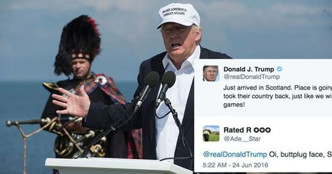 God, the Replies to This Idiotic Donald Trump Brexit Tweet Are Beautiful | Current Events, Political & This & That | Scoop.it