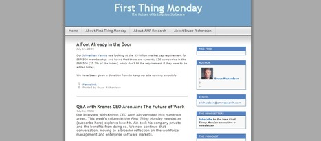 First Thing Monday | first thing monday | Scoop.it