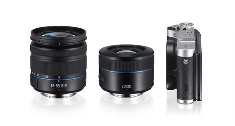samsung's NX300 mirrorless wi fi camera with 45mm 3D/2D lens - designboom | architecture & design magazine | Technological Designs | Scoop.it