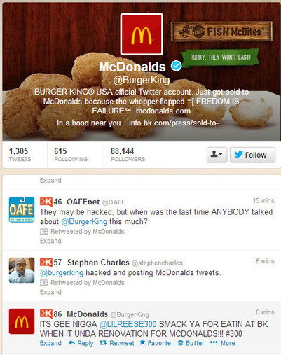 Burger King Twitter Hacking: Take A Chill Pill | Dave Fleet | Public Relations & Social Media Insight | Scoop.it