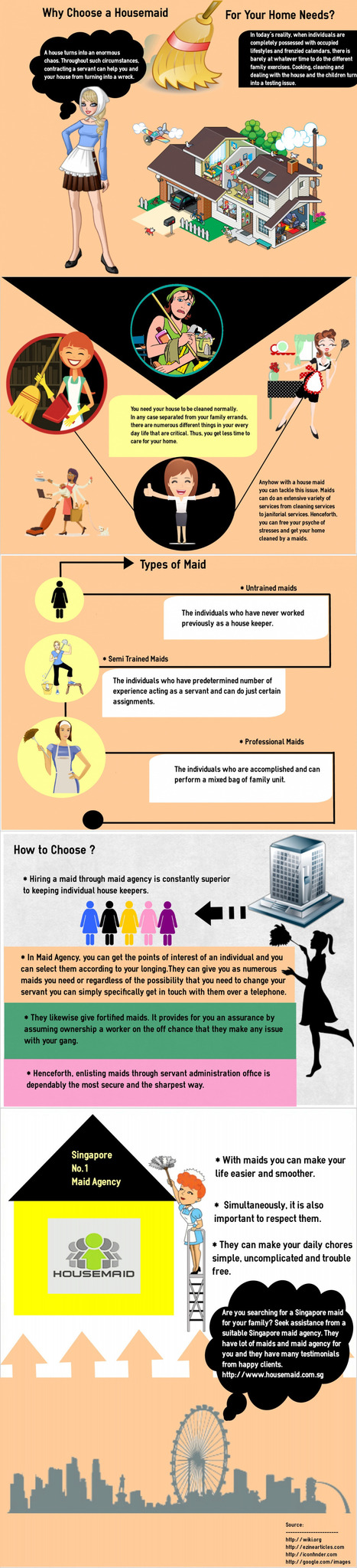Why Choose a Housemaid for your Home Needs?   infographicsmaker   Scoop.it