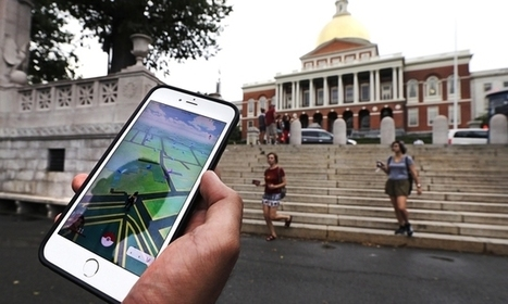 'Pokemon Go' players stumble on hidden history | Kickin' Kickers | Scoop.it