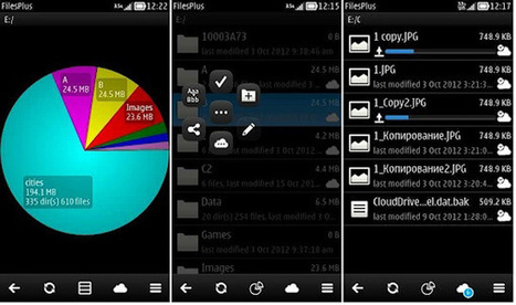 FilesPlus for Symbian smartphones updated | SymbianTweet | Nokia, Symbian and WP 8 | Scoop.it