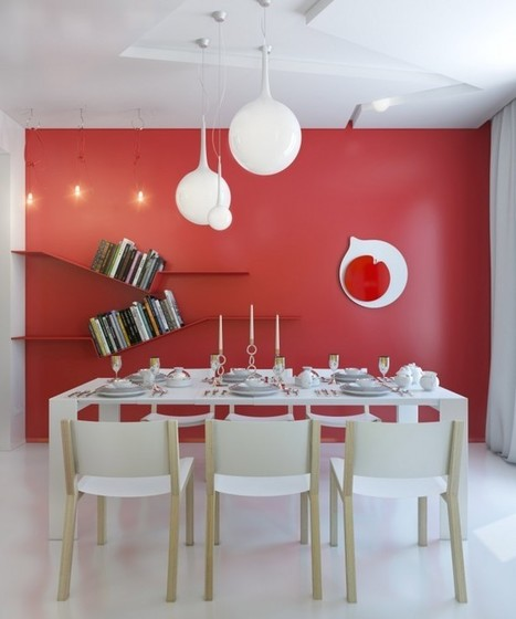 Small Apartment Zinging with Color | Interior design | Scoop.it
