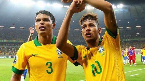 After Thiago Silva's outburst over captain Neymar, Brazil tensions calm | Media Mix | Scoop.it