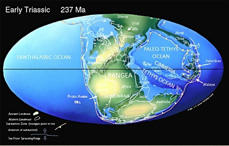 Paleomaps and Earth's History - World geography millions of years in the past and in the future | Amazing Science | Scoop.it