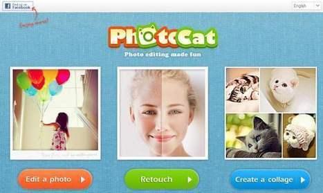 Retouche photo en ligne, Photocat