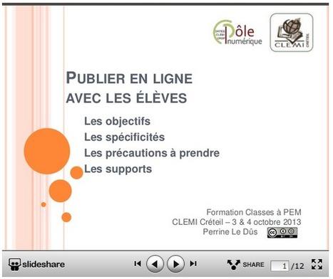 Publier en ligne avec les élèves : ressources et documents utiles | les docs | Scoop.it