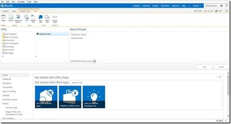 Building a SharePoint 2013 App to embed Yammer feed on an Office 365 SharePoint site using Yammer Connect - i:0#.w Ali.Mazaheri - Site Home - MSDN Blogs   Business Collaboration   Scoop.it