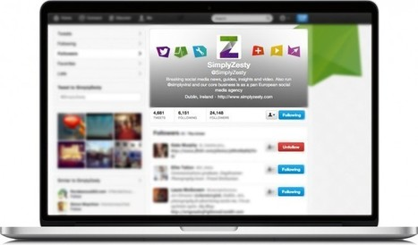 How To Better Optimise Your Twitter Business Page | Social Media Partnerships | Scoop.it