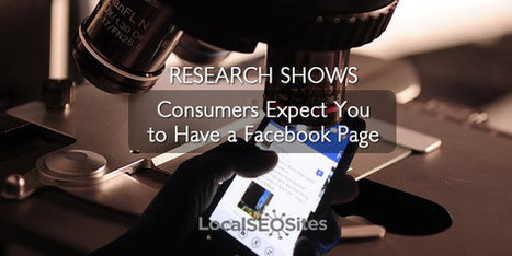 Research Shows a Company Facebook is a Must But Why?   Local Search News For APM Dentists   Scoop.it