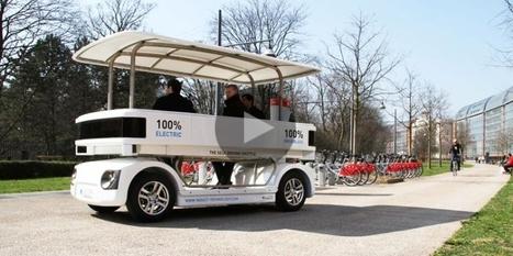 20 Minutes Online - Un mini-bus sans chauffeur en test à l EPFL - Vaud | INDUCT | Scoop.it