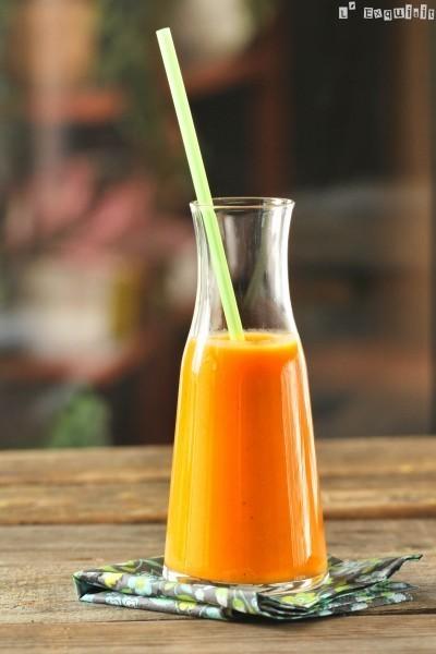 Sopa fría de boniatos y naranjas   Zumos Naturales   Scoop.it