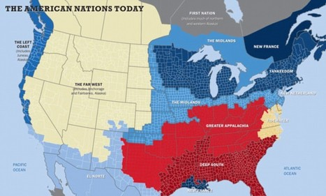 Which of the 11 American nations do you live in? | AP Human GeographyNRHS | Scoop.it