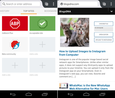 New Adblock Plus Browser lets you Surf without Annonying Ads on Android | Time to Learn | Scoop.it