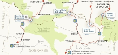 Camino de Santiago en Sobrarbe | Vallée d'Aure - Pyrénées | Scoop.it