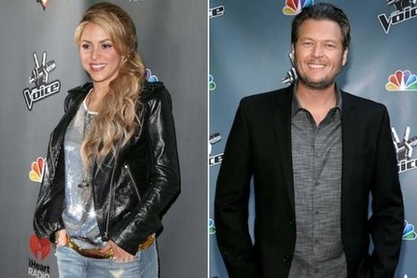 Shakira and Blake Shelton, 'Medicine' [Listen] | Country Music Today | Scoop.it