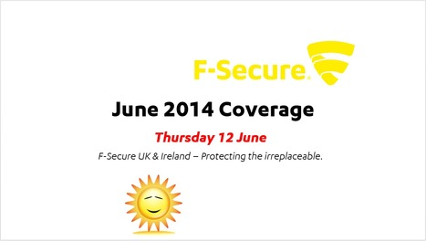 June Coverage (12th) | F-Secure Coverage (UK) | Scoop.it