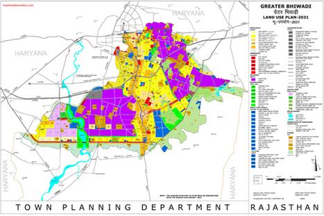Greater Bhiwadi Master Plan 2031 Map - Master Plans India   Technology, Health, Real Estate & Digital marketing   Scoop.it