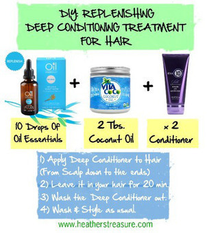 DIY Replenishing Deep Conditioning Treatment For Hair | Beauty Tips | Scoop.it
