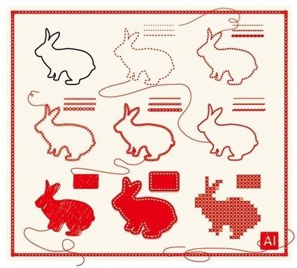 Illustratorで刺繍表現いろいろ|鈴木メモ | めもめも2nd | Scoop.it