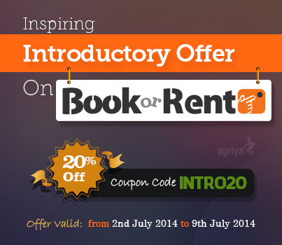 Agriya's 20% Mega Offer For BookorRent | BookOrRent - Booking Software, Rental Software - Agriya | Scoop.it