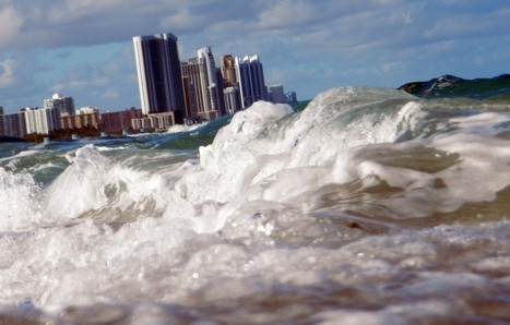 "Seas aren't just rising, scientists say — it's worse than that. They're speeding up. (""too late?"") 