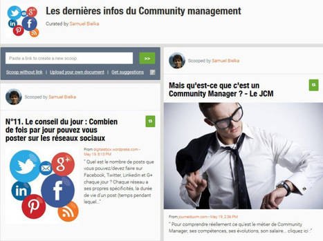 10 outils pour réussir votre community management | community management | Scoop.it