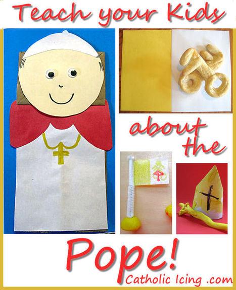 Celebrating Divine Mercy Sunday And Saint John Paul II With Kids | Resources for Catholic Faith Education | Scoop.it