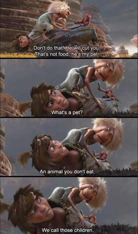 What's a pet? An animal you don't eat! | Humor | Scoop.it