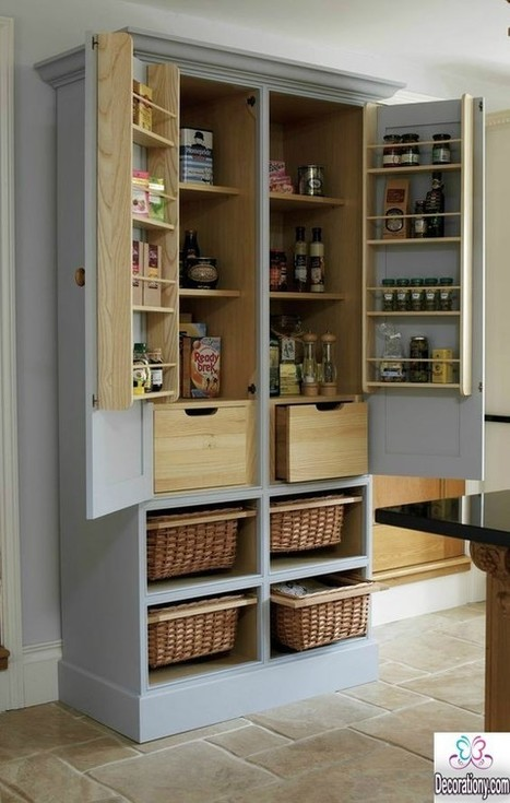 Perfect Kitchen Pantry Cabinet Ideas for More Efficient Storage | Decoration | Scoop.it