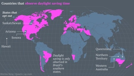 The US needs to retire daylight savings and just have two time zones—one hour apart | Musings for business, life and leisure | Scoop.it