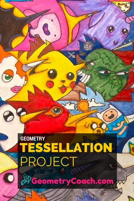 Tessellation Project - GeometryCoach.com | Education | Scoop.it