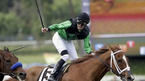 Jockeys will face fines for over-whipping in California. | Horse Racing News | Scoop.it