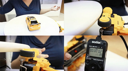 Automating Product Photography with An IKEA SNUDDA And An RC Car | DIYPhotography.net | Art of Lens | Scoop.it