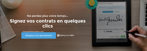 YOUSIGN : la signature online sécurisée et archivée | Cloud as a Service | Scoop.it