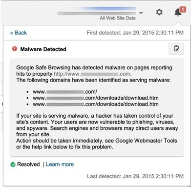 Google Analytics notifie aux webmasters les pages contenant des virus - #Arobasenet | Web Marketing | Scoop.it