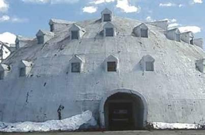 Landmark urethane igloo in Alaska for sale | Team Pendley REMAX | Scoop.it