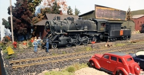 White River Division: Steam Power Turning? | Model Railroading | Scoop.it
