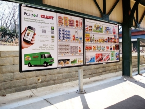 New Mobile App Allows DC Commuters to Shop for Groceries via Billboards on ... - In The Capital | Cool International | Scoop.it