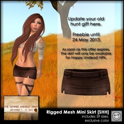 SL Freebie Addiction: Happy Undead Free Gift for A Very Limited Time!   Finding SL Freebies   Scoop.it