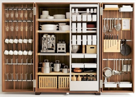 We're Totally In Awe of Bulthaup's Custom Kitchen Storage & Organizers | Business Tools | Scoop.it