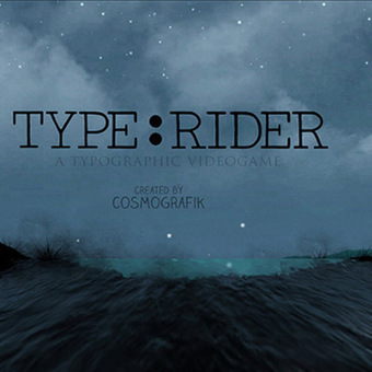 Type:Rider a Super Mario-Esque Game for Your Smartphone to Learn the History of Typography | App recommendations | Scoop.it