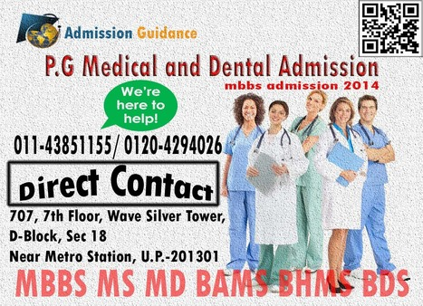 medical admission 2014 | Admission Guidance Delhi | Scoop.it