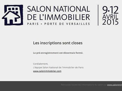 Report du salon national de l'immobilier 2015 | PROXICA GROUPE | Scoop.it