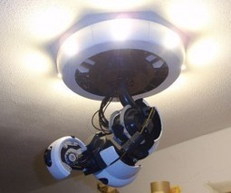 3D Printed GLaDOS Arm Lamp: Killing You and Lighting Your Home Aren't ... - Technabob (blog) | Curation, Gamification, Augmented Reality, connect.me, Singularity, 3D Printer, Technology, Apple, Microsoft, Science, wii, ps3, xbox | Scoop.it