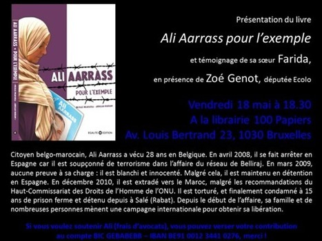 "vendredi 18 mai 2012 - Schaerbeek - Présentation discussion - Etat policier : ""Ali Aaraas pour l'exemple"" | Occupy Belgium | Scoop.it"