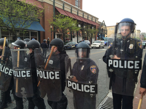 Baltimore police had riot equipment on order as unrest spread | Police Problems and Policy | Scoop.it