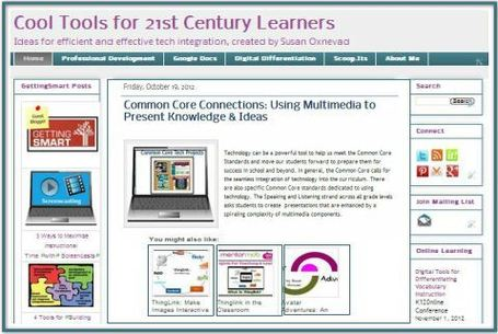 Cool Tools for 21st Century Learners Blog | Bloom's Taxonomy Presented Visually | Scoop.it